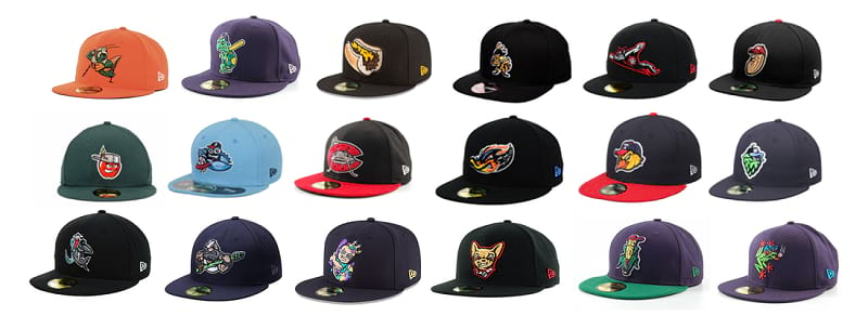 Best Minor League Hats